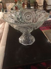 flared punch bowl