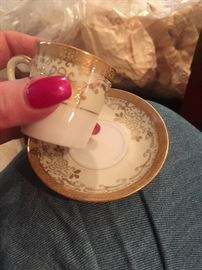 demi cup and saucer