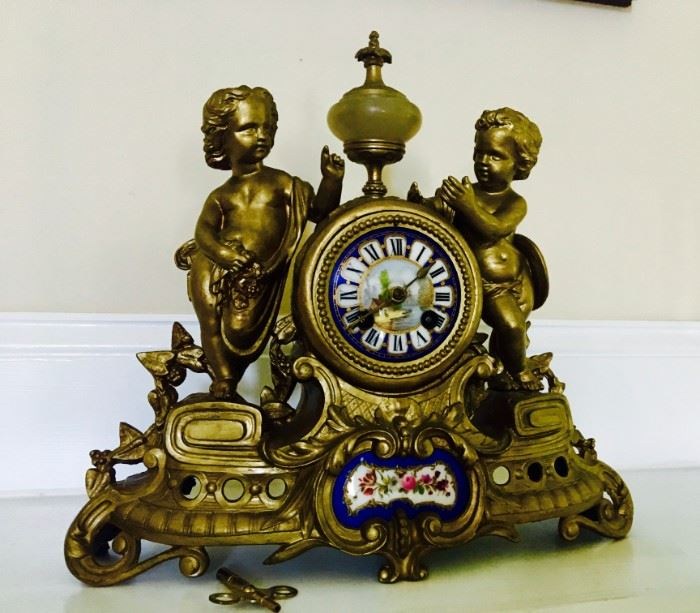 French Style Mantle Clock