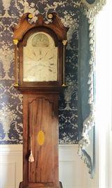 1820's English Tall Case Clock