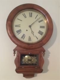"""Ansonia """"No 1 Extra"""" Wall Clock"""