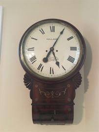 Holland Nottingham Fusee Wall Clock