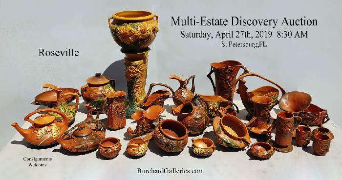 Huge Roseville Collection