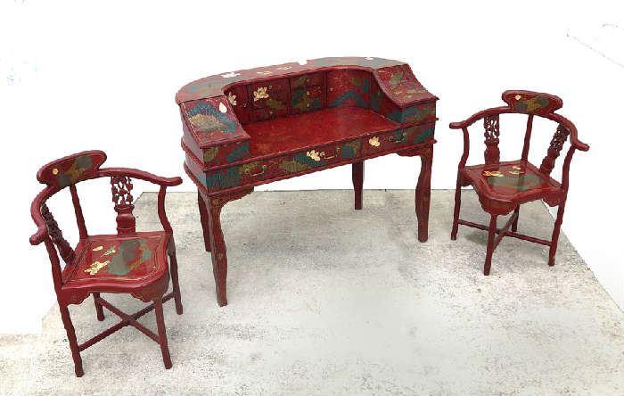 Chinoiserie Oriental Furniture
