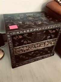 Qing Dynasty Laquer Chest