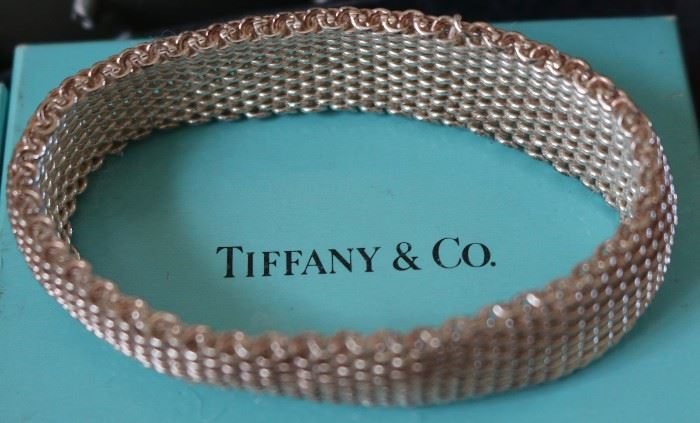 Tiffany Sterling braid bracelet