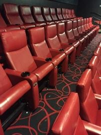 VIP Cinema Theater Chair Right armrest..