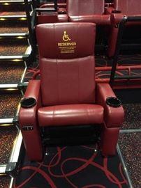 VIP Cinema Single Theater Chair