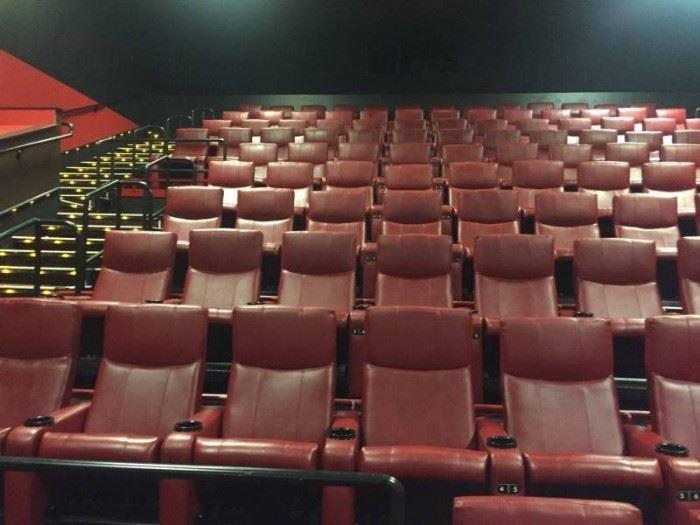 VIP Cinema Theater Chair Right armrest....