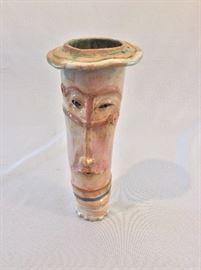 """Pottery Vase, 10"""" H."""