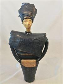 """Beautiful 2-Piece Ceramic, 20"""" H."""