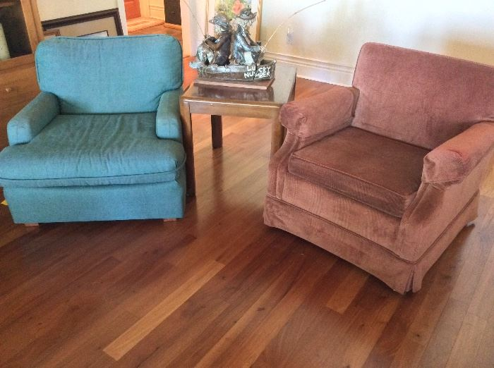 Upholstered Living Room Chairs.