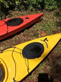 Perception America Kayaks.