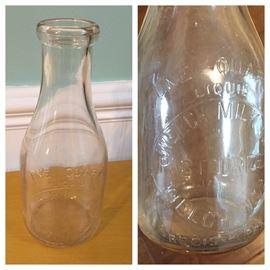 Welch Milk Co. - Welch, W. VA. - One Quart Bottle