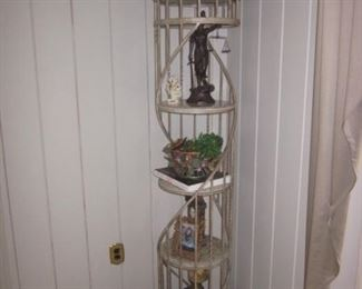 Swivel Curio Shelving