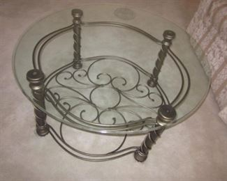 Ornate Design Cocktail Table