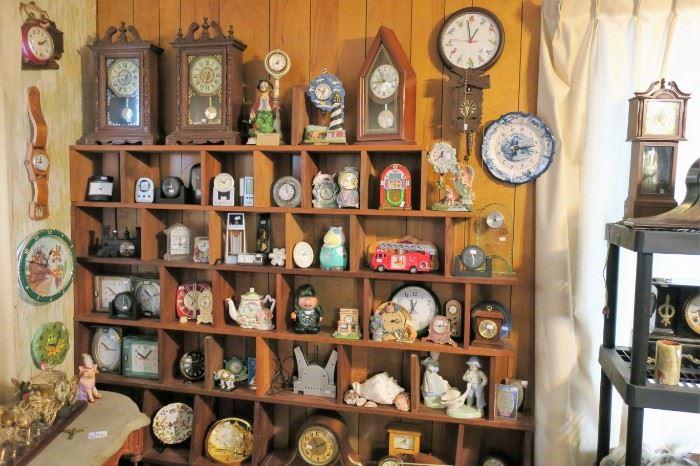 More clocks....