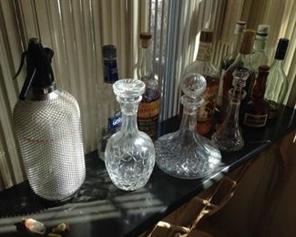 Waterford and barware