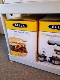 Bella Cooker/Servers in box.