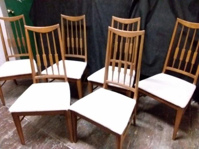 W016 Mid Century Wood Chairs