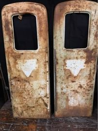 Ch122 Rustic Gas Pump Panels