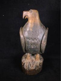 W090 AC Haywood Carved Eagle