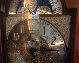 howard miller grandfather clock WORKS GREAT!