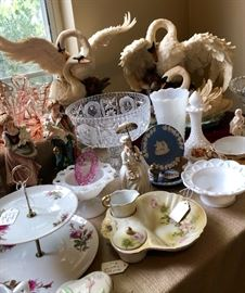 Lovely vintage and antique porcelain