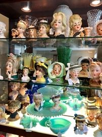 These Lady Heads are in nearly mint condition!