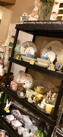 Vintage MCM China and newer entertainment pieces!