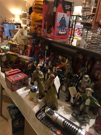 Vintage Star Wars and Spider-Man Collectibles!