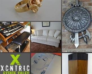 XCNTRIC Estate Sales Orland Park Estate Sale May 9-11, 2019