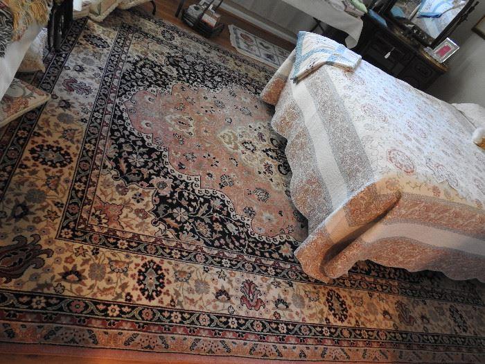 Great Persian rug, 9' X 12'