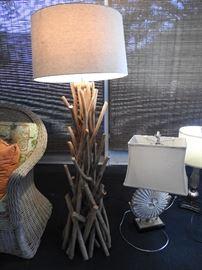Twig lamp