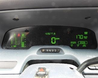 As shown above, mileage is just under 160,000.