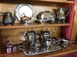 Silver plate Sets