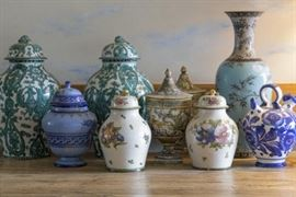 antique vases