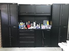 Montezuma garage storage system