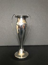 Tiffany sterling bud vase