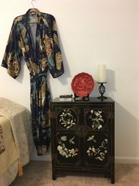Inlaid Asian Style Cabinet