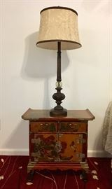 Small Pagoda Style Cabinet
