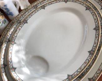 matching platters