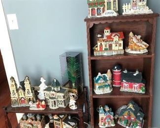 Christmas village items