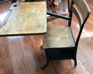 old student desk