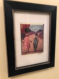 Watercolor, signed (small)