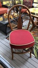 Rattan chairs, 4