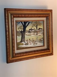 Vintage signed HARGROVE painting
