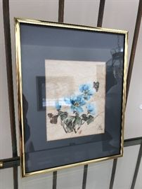 Charlotte Fung Miller original signed Chinese brush painting