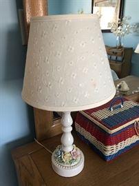 Vintage dresser lamps, 2