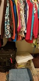 VERY NICE CLOTHING  --  SUITCASES